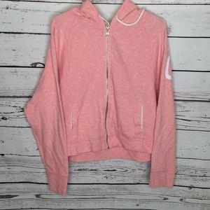 Victoria's Secret zip up crop hoodie angel